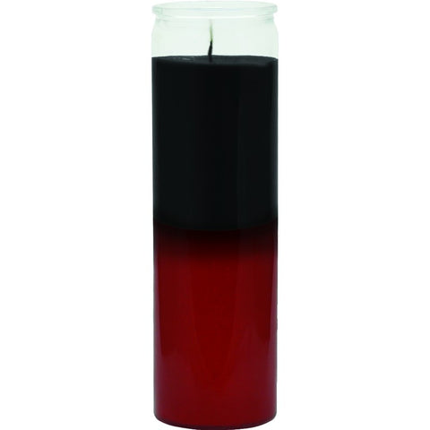 Black/Red Plain Candle