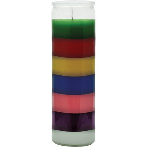 7 Colors Plain Candle