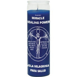 Miracle Healing Plain Candle