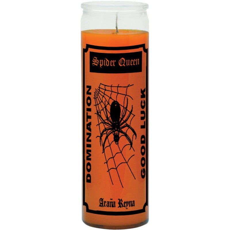 Spider Queen/Domination and Good Luck Plain Candle