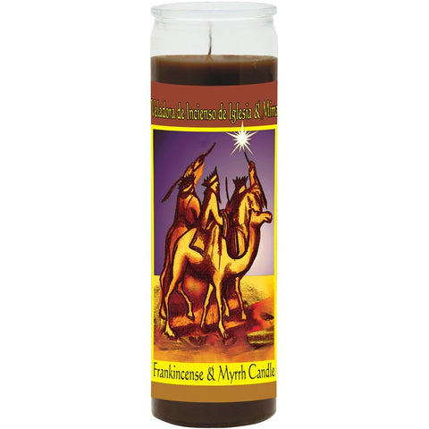 Frankincense and Myrrh Fixed Candle