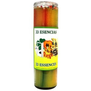 33 Essences Cocktail Candle