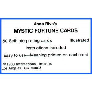 Mystic Fortune Cards By Ana Riva