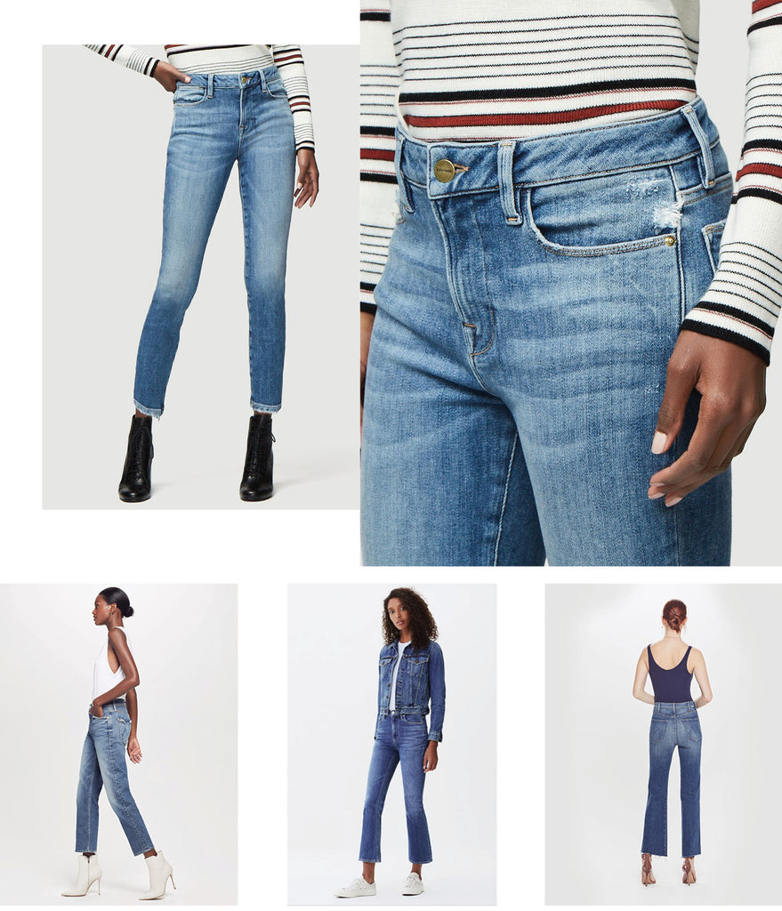 Citizens of humanity, Frame Denim, Mother Denim Cropped Jeans