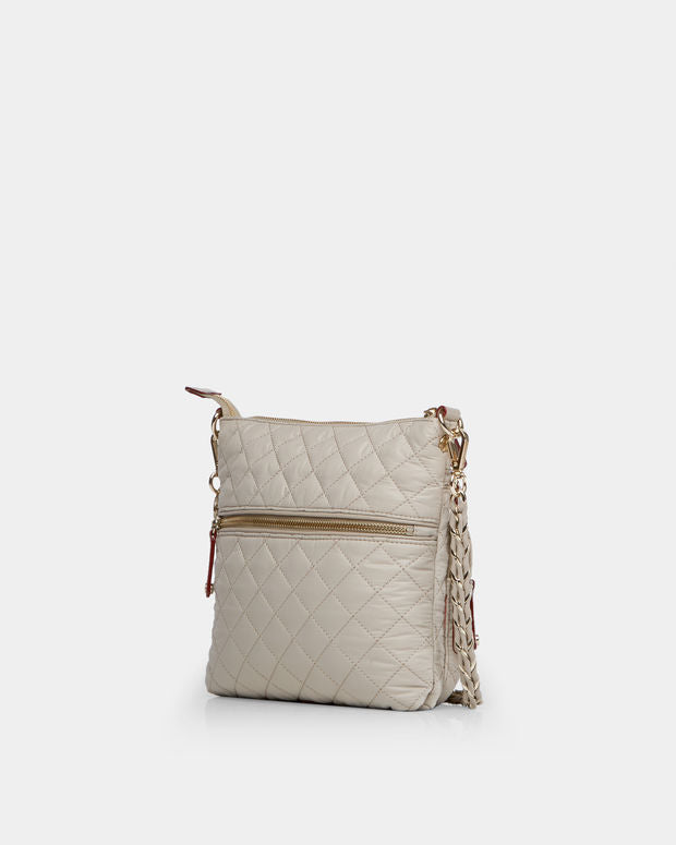PAIGE DOWNTOWN NYLON CROSSBODY
