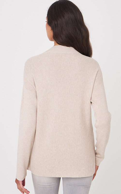 Pocket V Neck Sweater Repeat