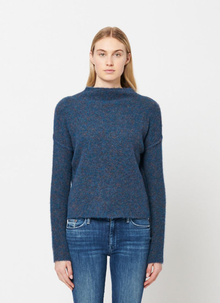 Line Mohair Funnel Neck Sweater