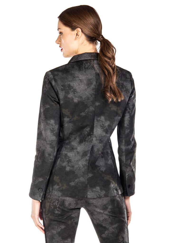 Masons Helena Cloud Camo Blazer