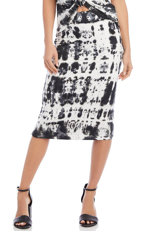 Tie Dye Midi Skirt Fifteen Twenty