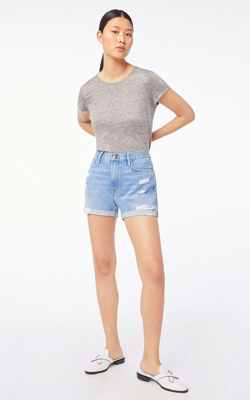 Frame Le Beau Short Cuff | ANDREWS