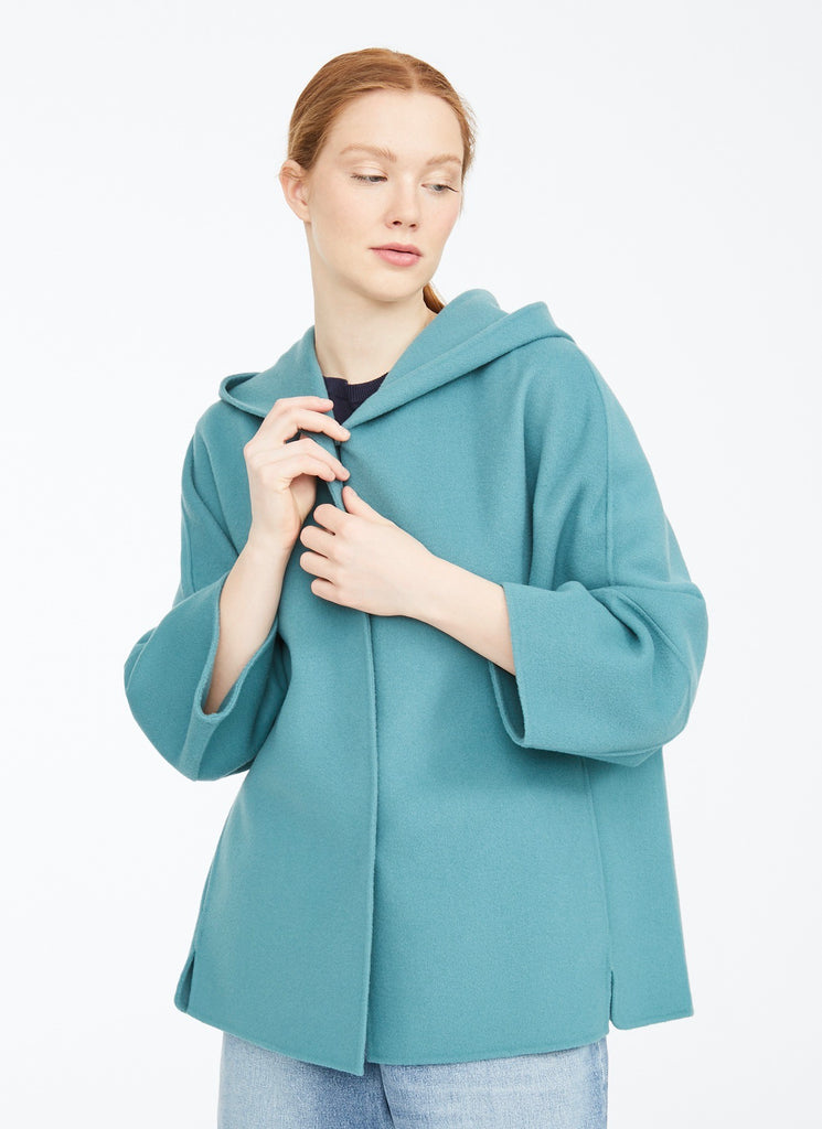 Max Mara Weekend Rapace Hooded Double Face Coat