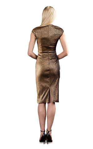 Cap Sleeve Sheath Dress Theia