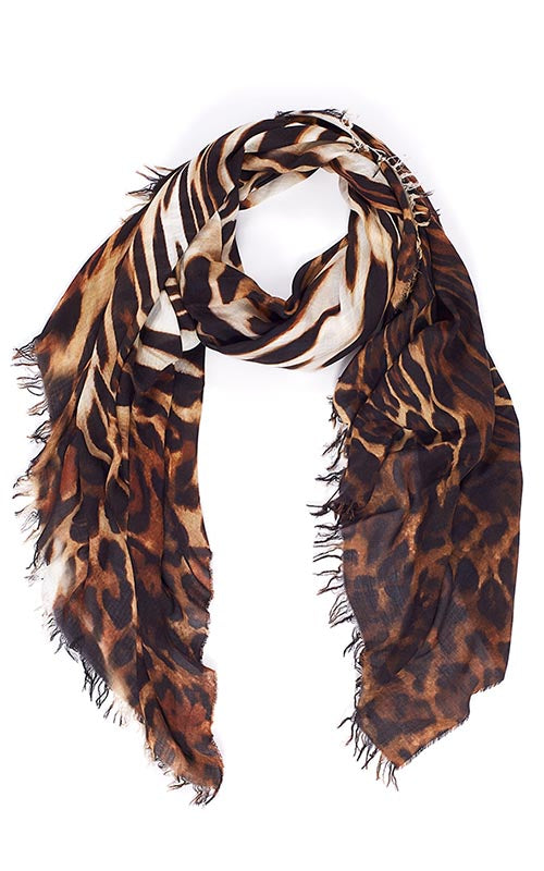 All Roar No Bite Leopard Scarf Suzi Roher