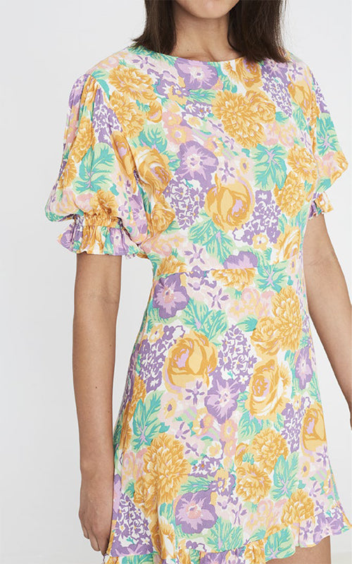 Faithfull the Brand Florence Floral Mini Dress