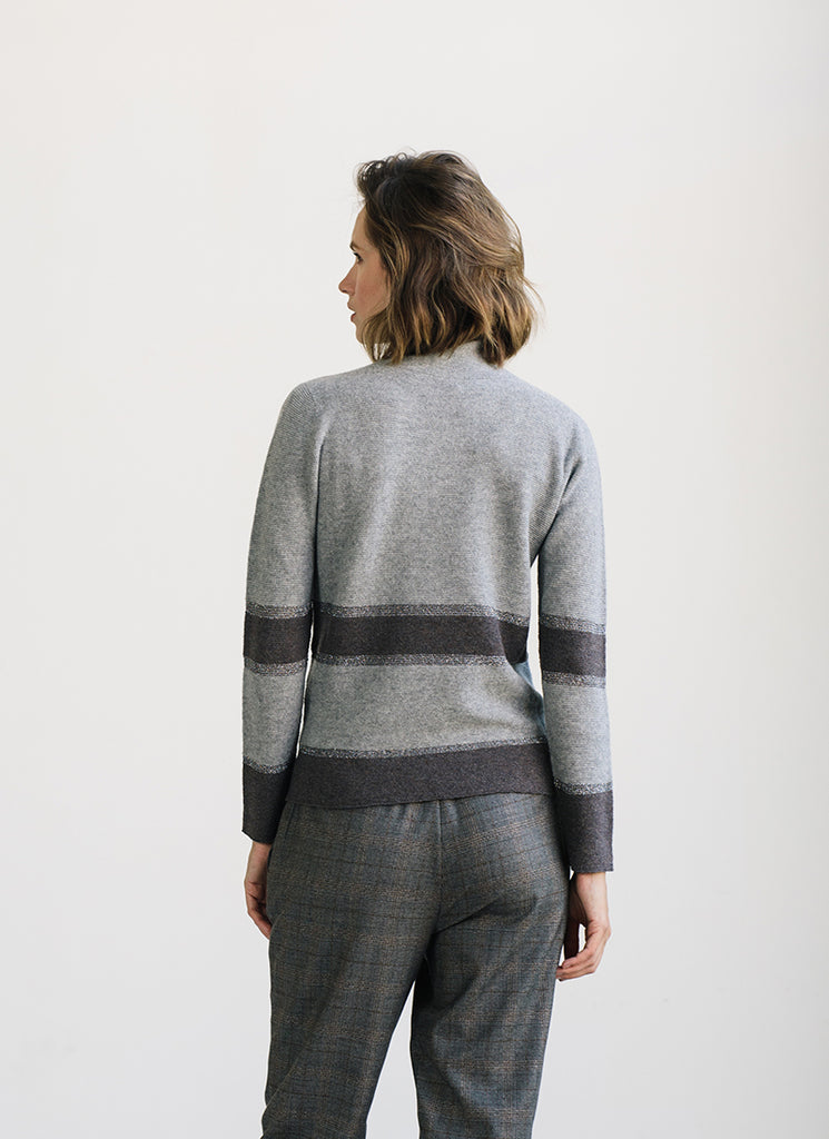Stripe Turtleneck Fabiana Flippi