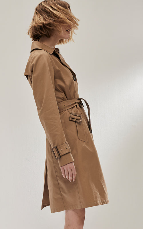 Classic Cotton Trench Herno