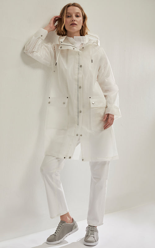 Transparent Raincoat Ilse Jacobsen