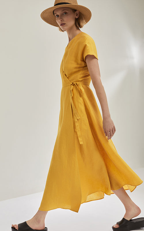 Long Wrap Dress Max Mara