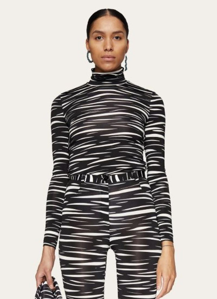 Stine Goya Jersey Zebra Anne Top