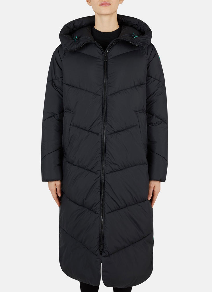 Save The Duck Long Hooded Coat