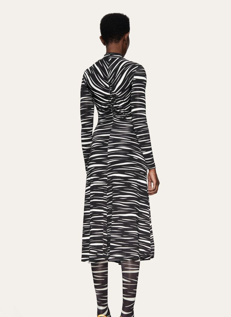 Stine Goya Jersey Zebra Asher Dress
