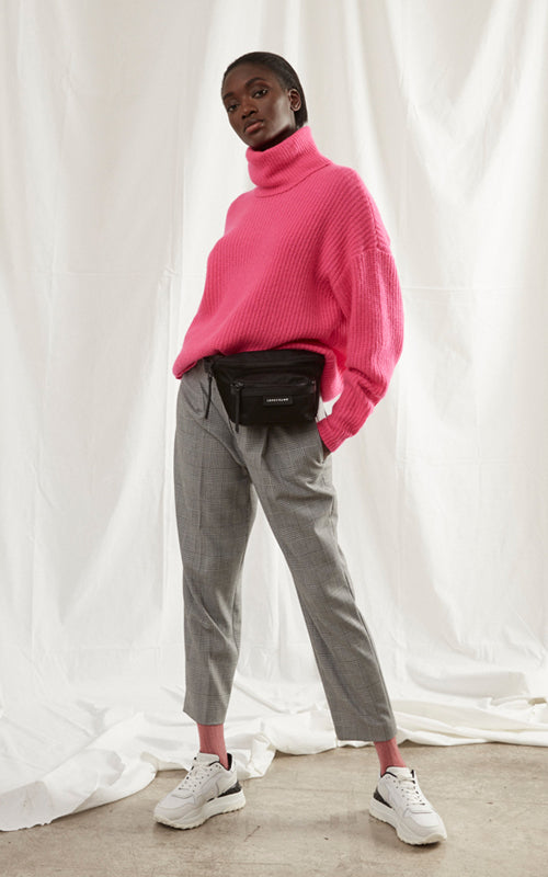 Cashmere Oversized Turtleneck