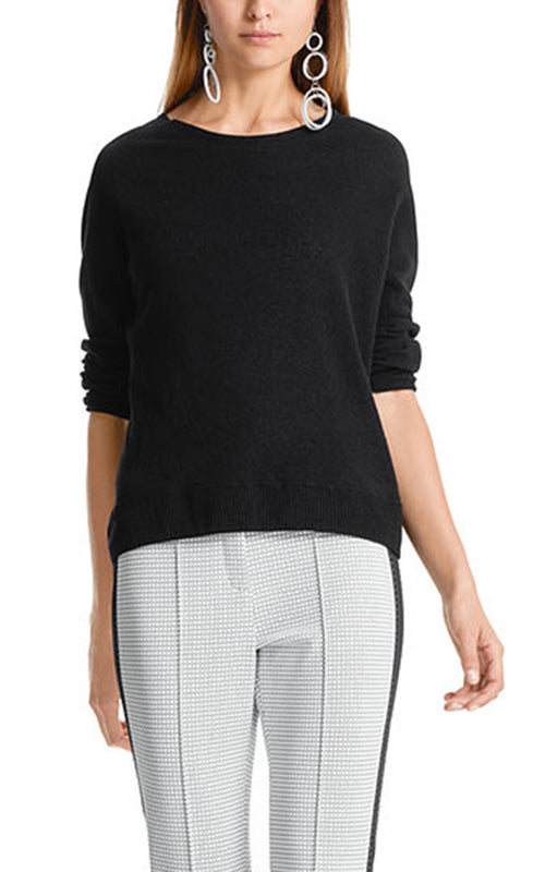 Open Back Crew Sweater Marc Cain