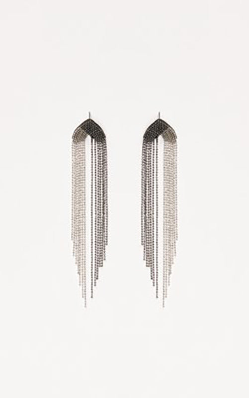 Chain Fringe Earrings Fabiana Filippi