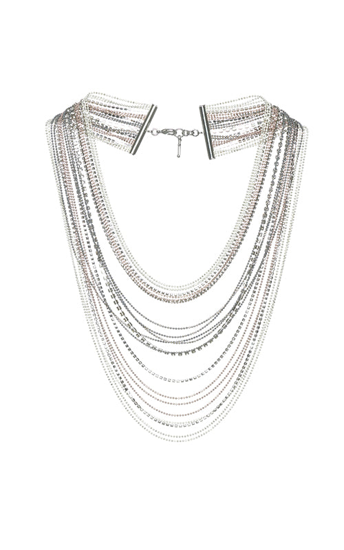 Fabiana Filippi Aurora Multi Strand Necklace