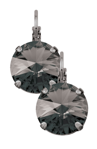 Rebekah Price Crystal Rivoli Drop Earrings