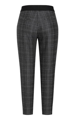 Kathreen Woven Check Pants Cambio
