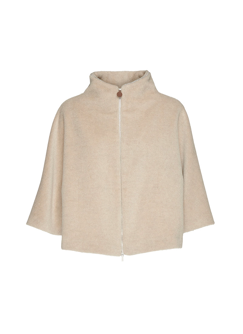 Fabiana Filippi Textured Crop Jacket