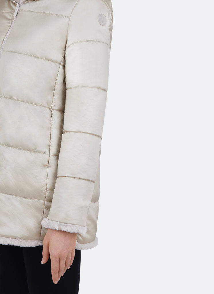 Save The Duck Reversible Faux Fur Jacket