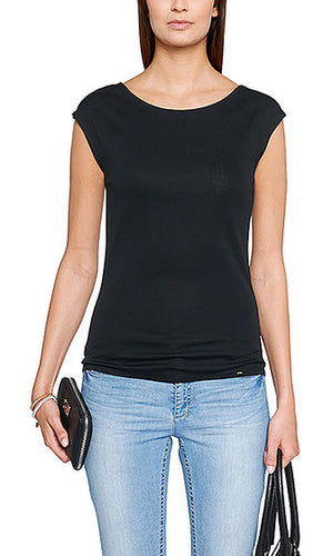 Cotton Crew Top Marc Cain