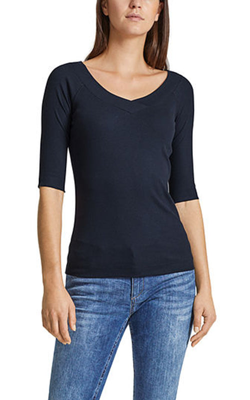V Neck Top Marc Cain
