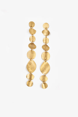 CHAN LUU GOLD 8-TIER EARRING