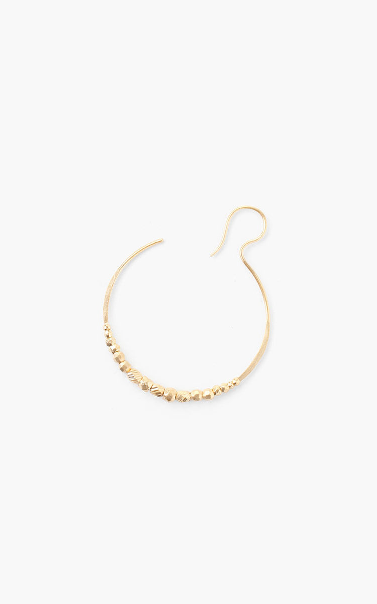 Gold Eclipse Hoop Earrings Chan Luu