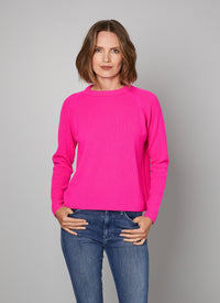 Forte Forte Ribbed Wool Cashmere Crew