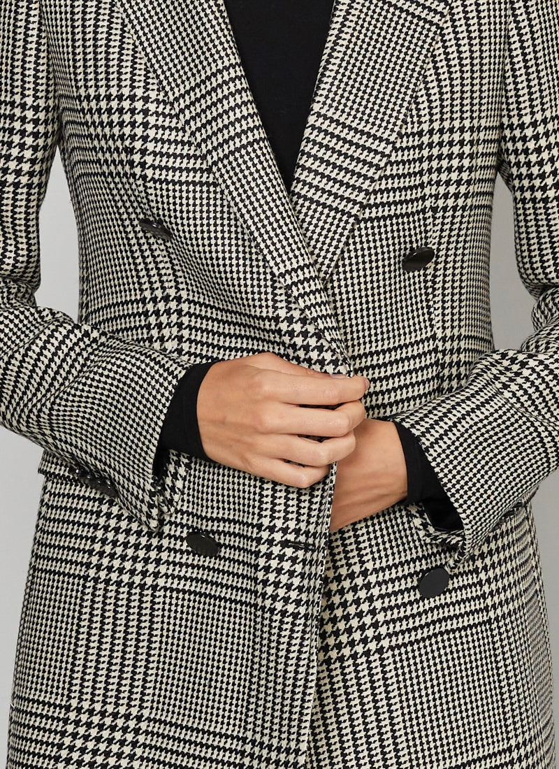 Taglitore Houndstooth Coat