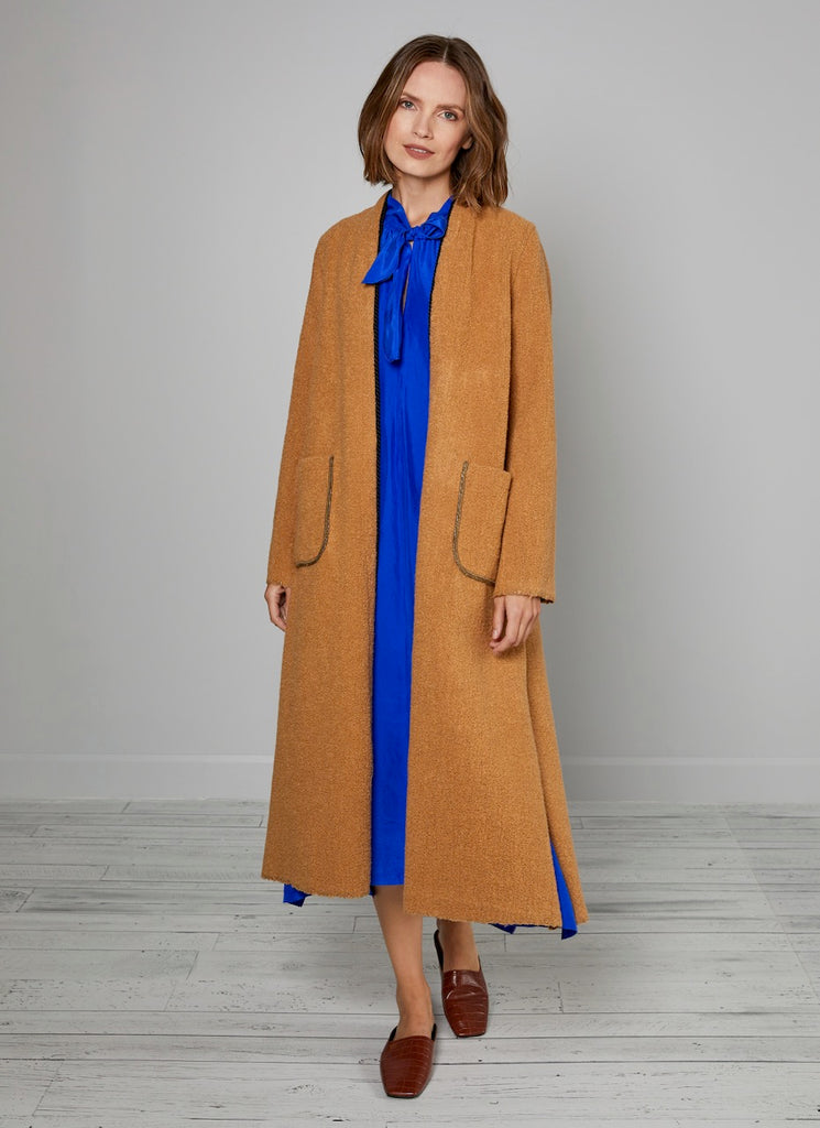 Forte Forte Reversible Wool Fur Coat