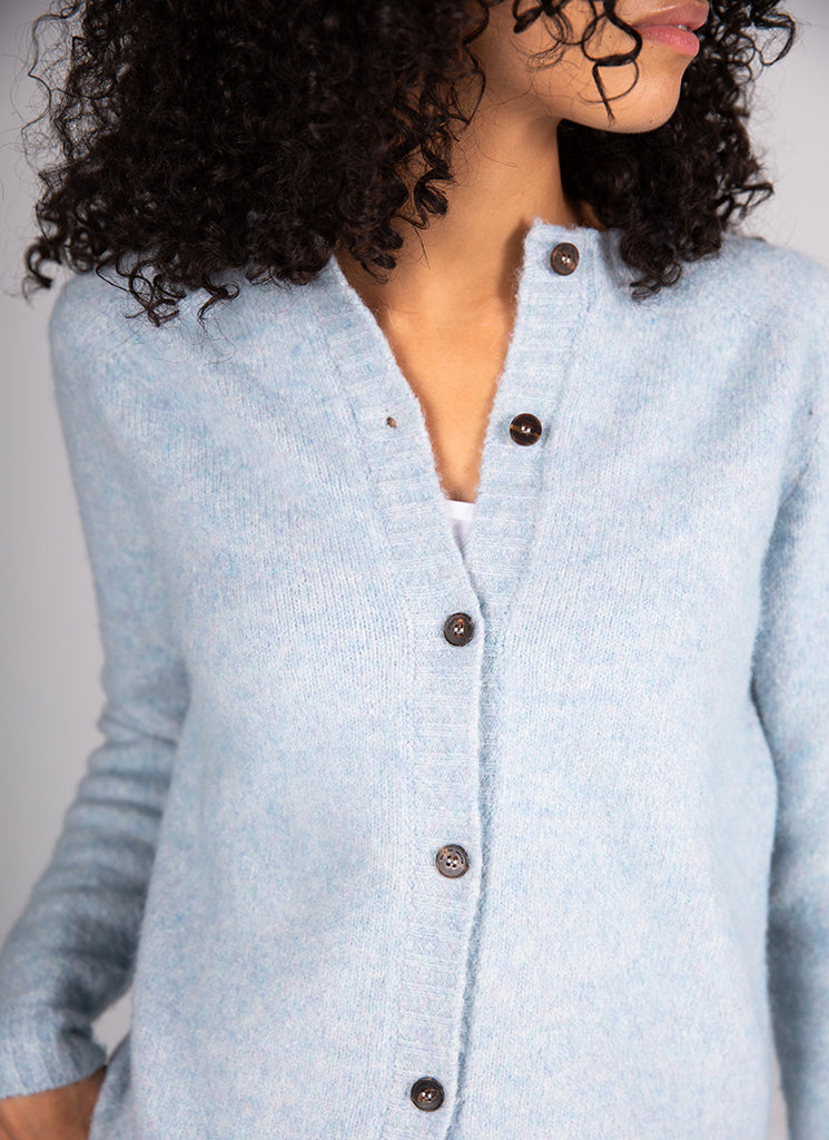 Cotton With Alpaca Cardigan Roberto Collina