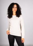 Cashmere Long-Sleeve Pullover Majestic