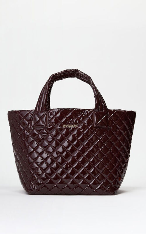 Small Metro Laquer Tote MZ Wallace