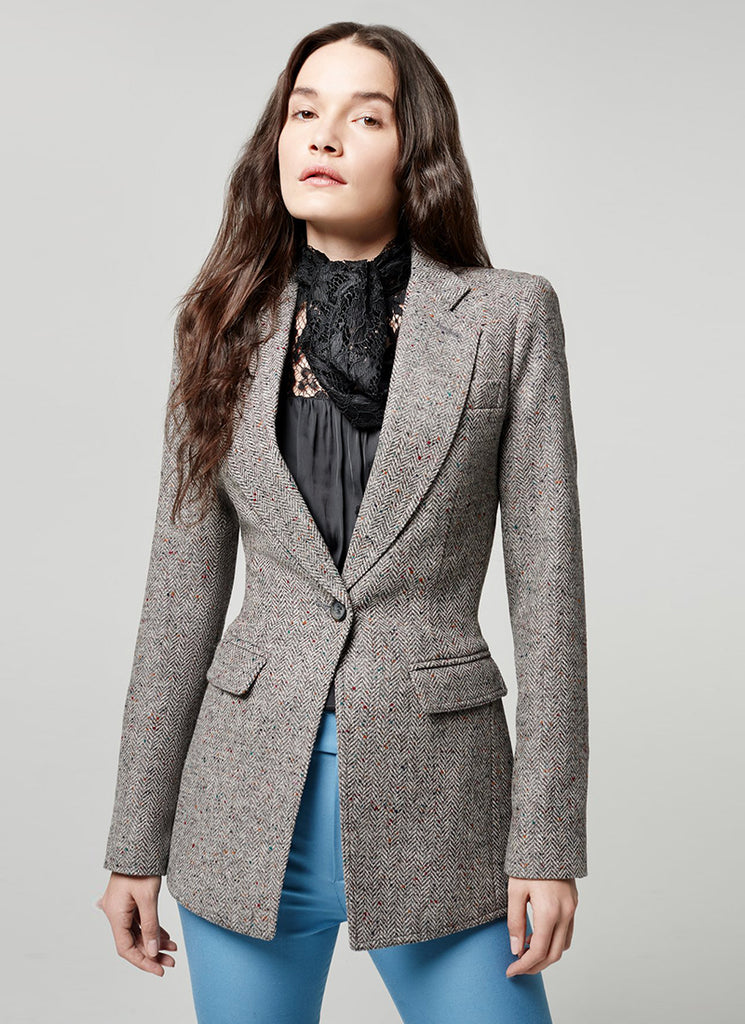 Herringbone Riding Blazer Smythe
