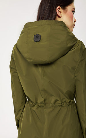 Franki Hooded Rain Anorak Mackage