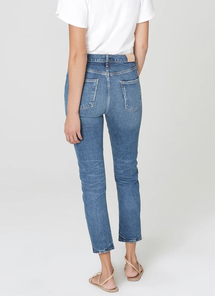 Citizens of Humanity Harlow Ankle Mid-Rise Slim Jeans