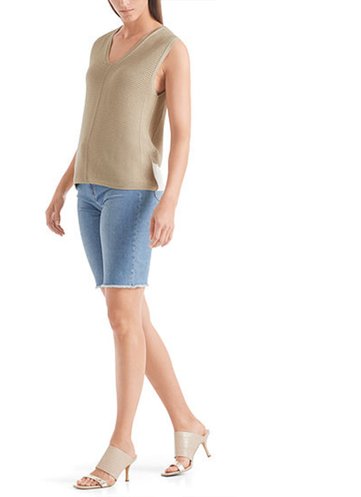 Marc Cain Made-in-Germany V-Neck Tank