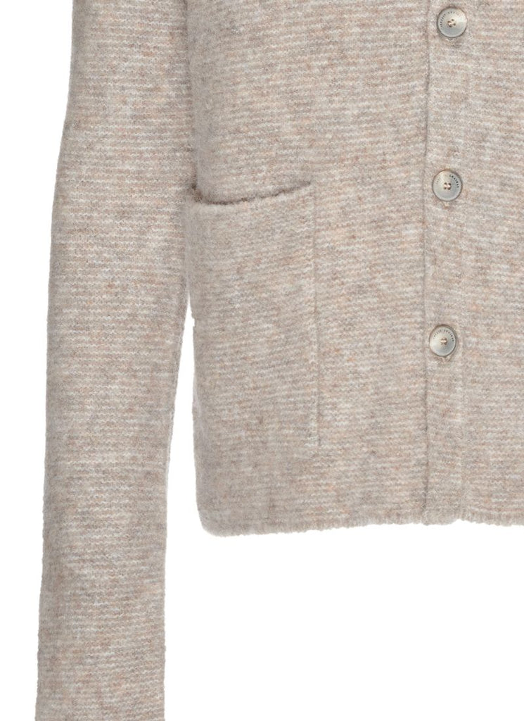 Fabiana Filippi Button-Up Boucle Cardigan