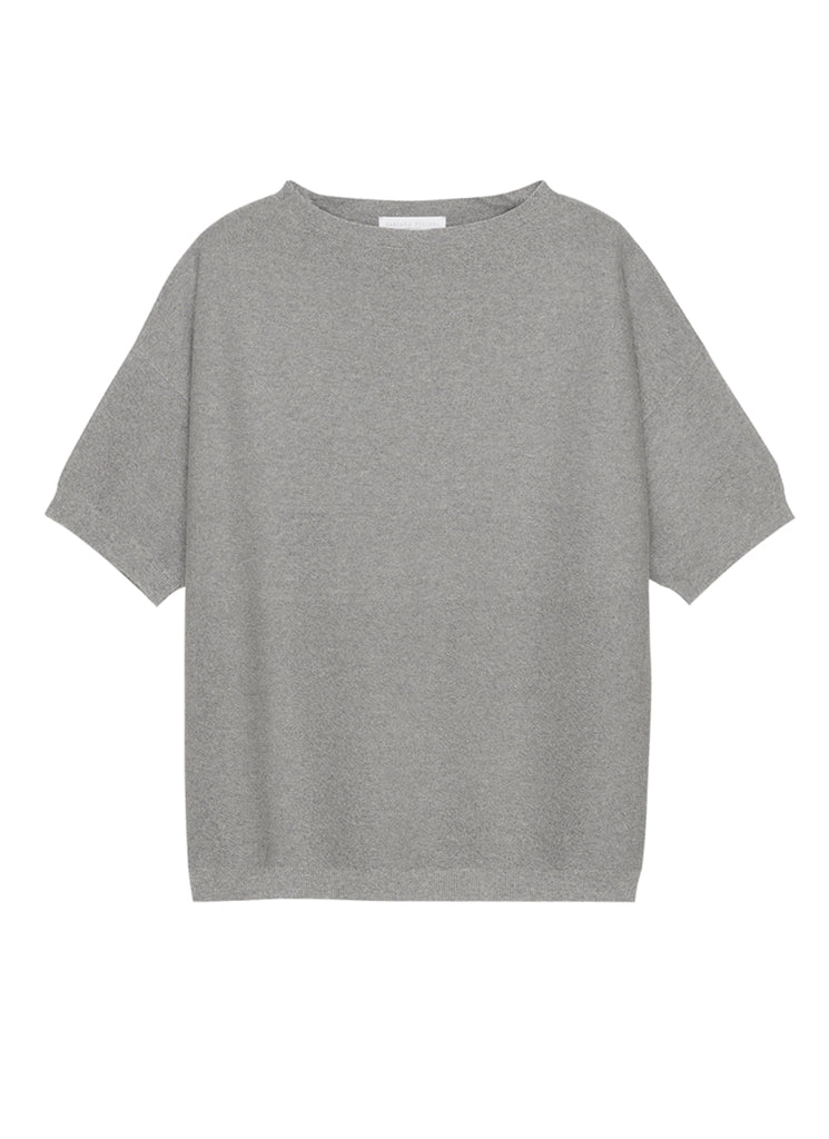 Lurex Short Sleeves Sweater