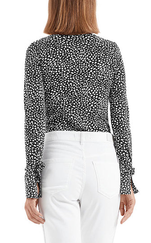 Dot Print Top Marc Cain